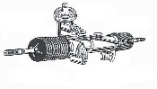 2009-2013 Toyota corolla made in Japan rack and pinion   $199.95